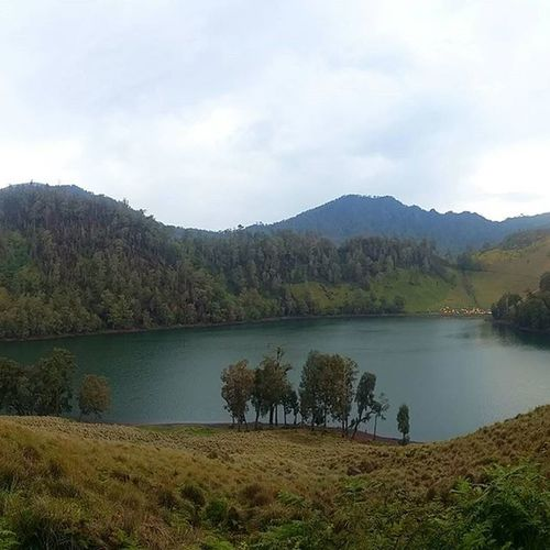 Rakum dari pos 4 Ranukumbolo2400mdpl Ranukumbolo Mahameru3676mdpl Gunungsemeru Instagunung INDONESIA Jawatimur Explorejawatimur