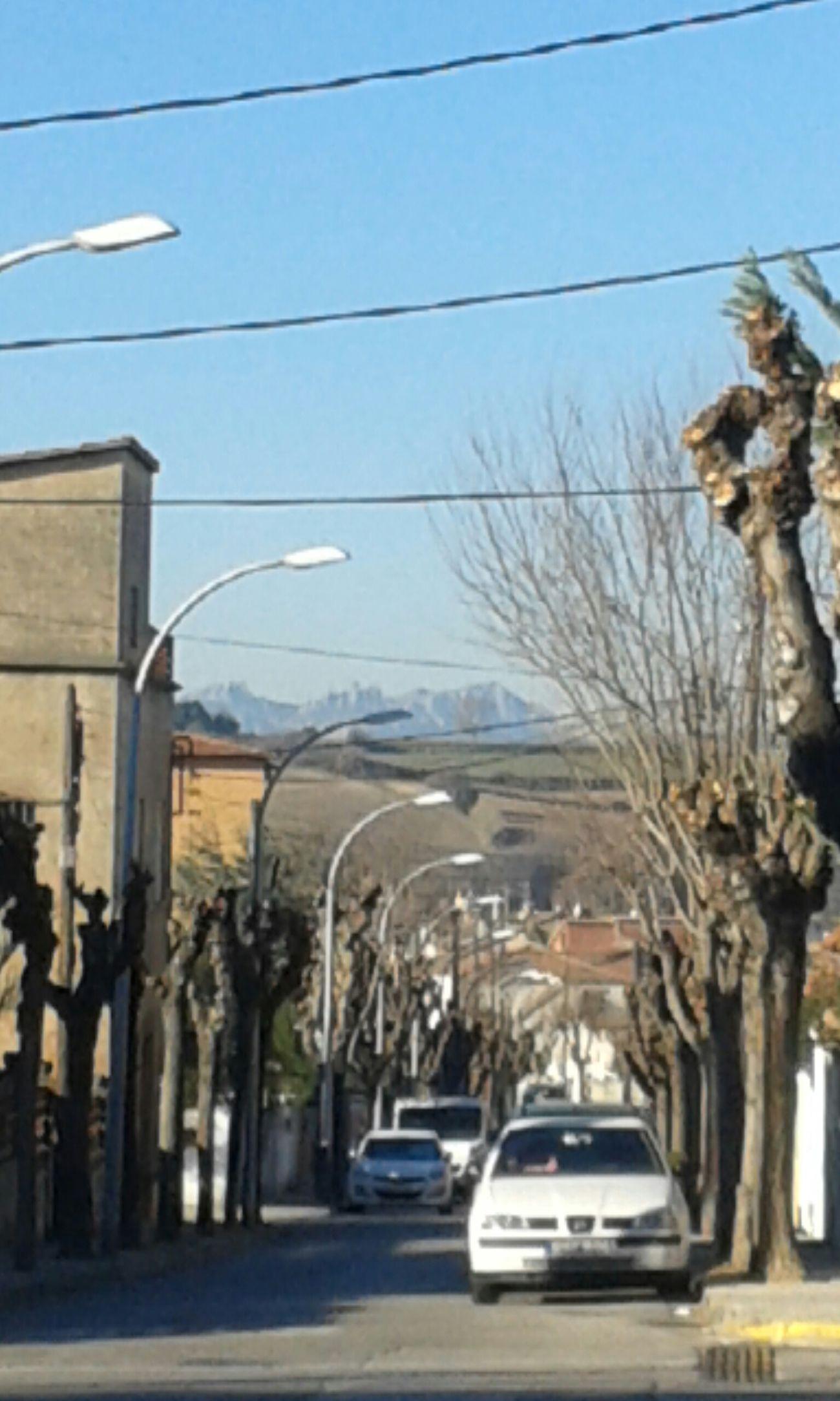 Relaxing Hello World Catalunya Paretsdelvalles Al Fons Montserrat Montanya