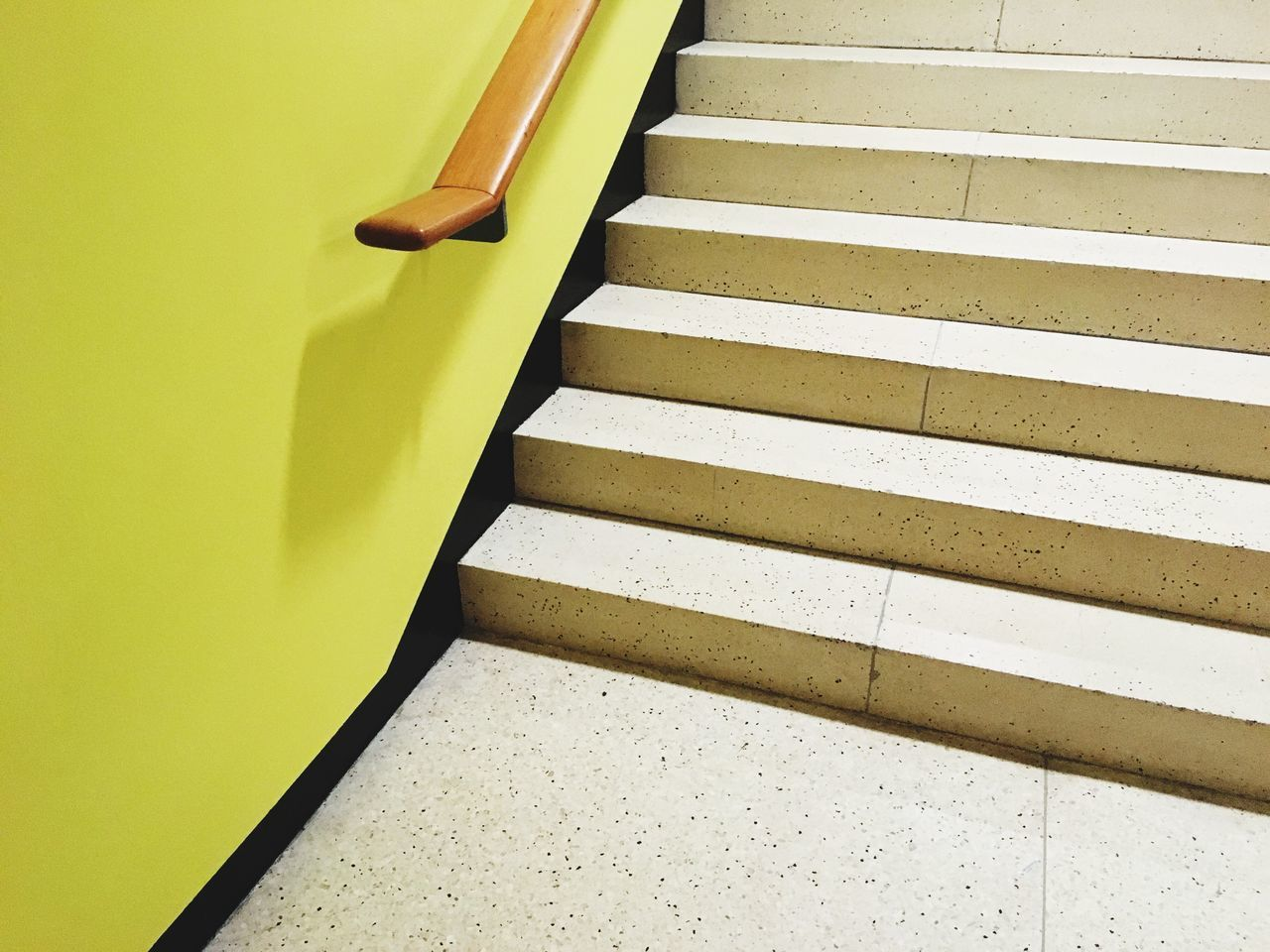 Staircase Steps And Staircases Steps Yellow No People Indoors  Day Architecture