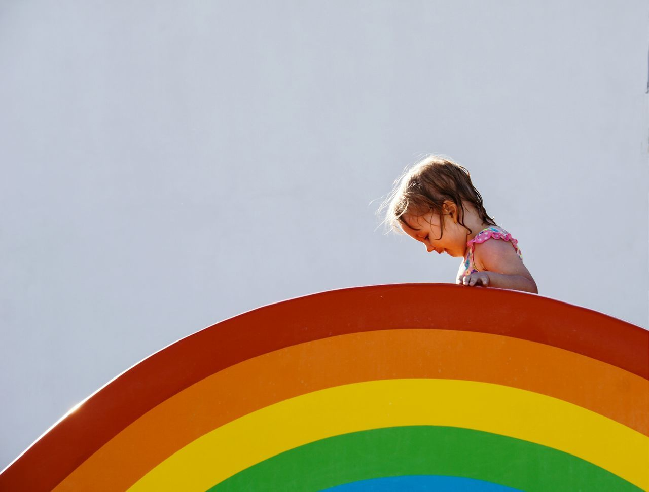 Colour Of Life Rainbow Beachphotography Child Minimalism Picturing Individuality Pivotal Ideas Festival Season The Magic Mission People And Places TakeoverContrast Enjoy The New Normal Uniqueness EyeEm Diversity Art Is Everywhere