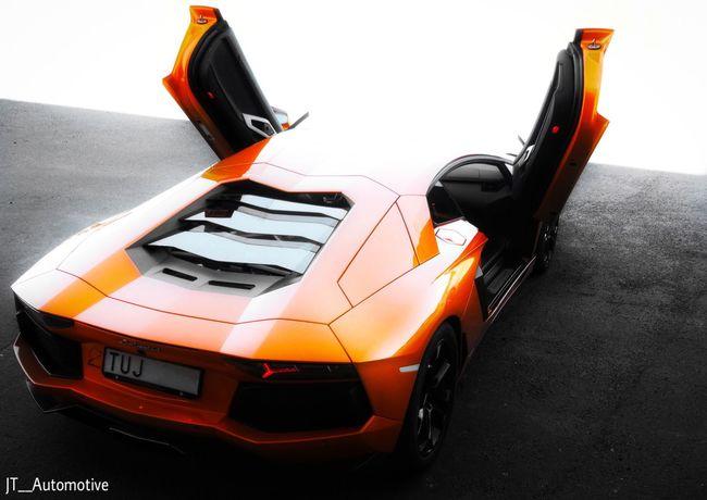 Lamborghini Aventador LP700-4 V12 Arancio Atlas. Lamborghini Car Arancioatlas Aventador Sweden Goteborg