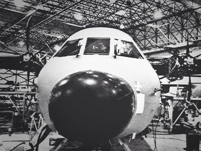 Avión Face To Face