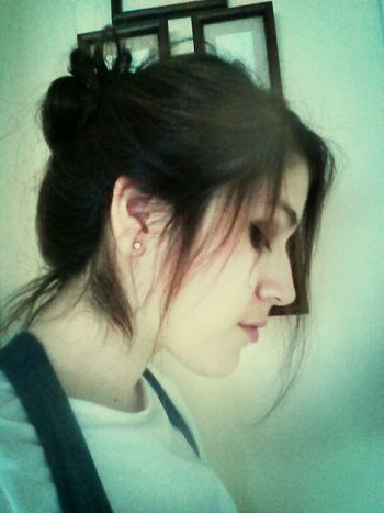 yeah !!! my hair grows up. I am able to do a hair bun now, you can do it! Hair Fashion