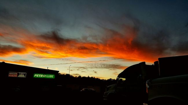 Beautiful night sky. Finding A Parking Spot Amazing Traveling Sky And Clouds
