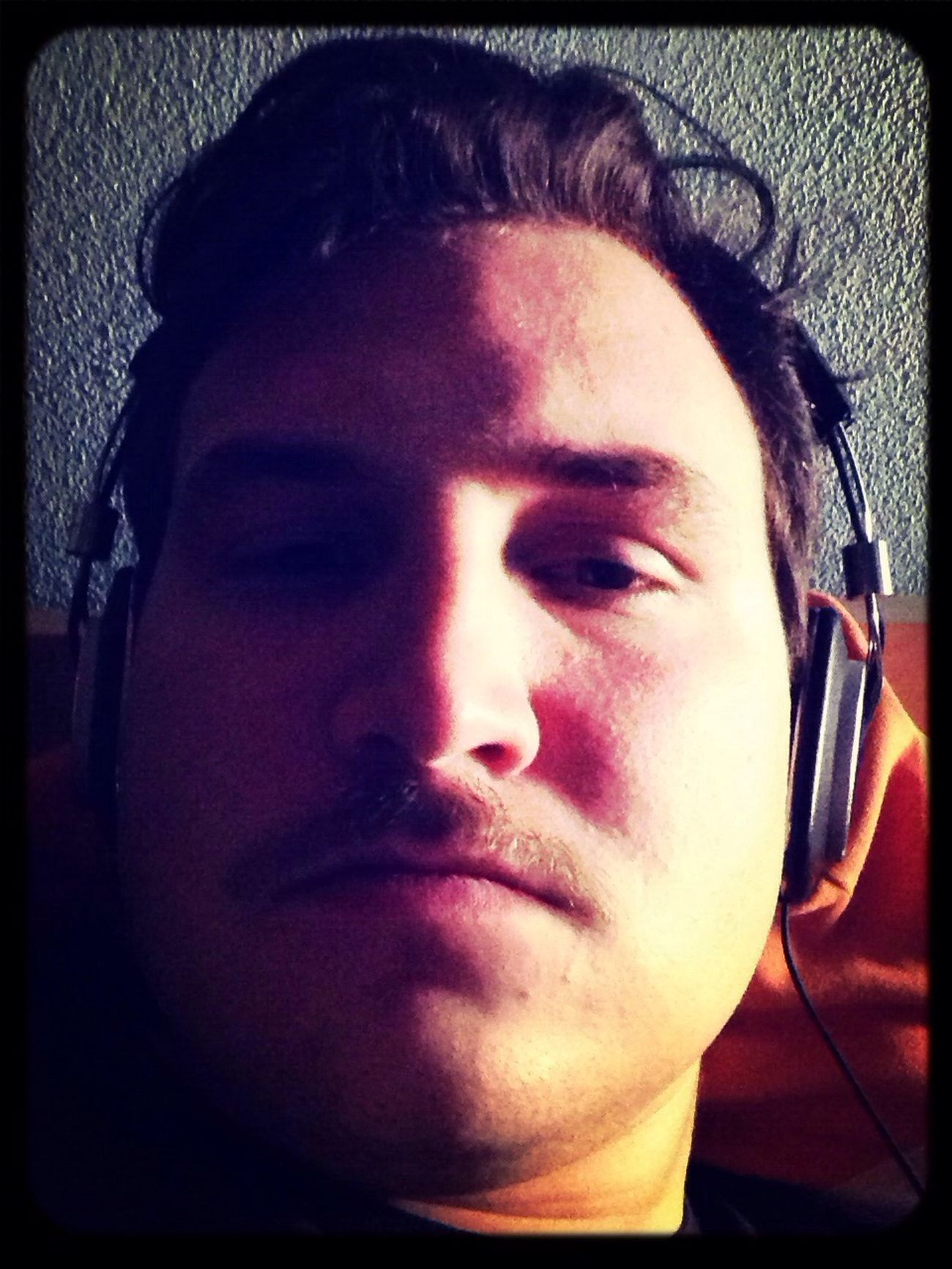 Music Beeing Sad Mustache