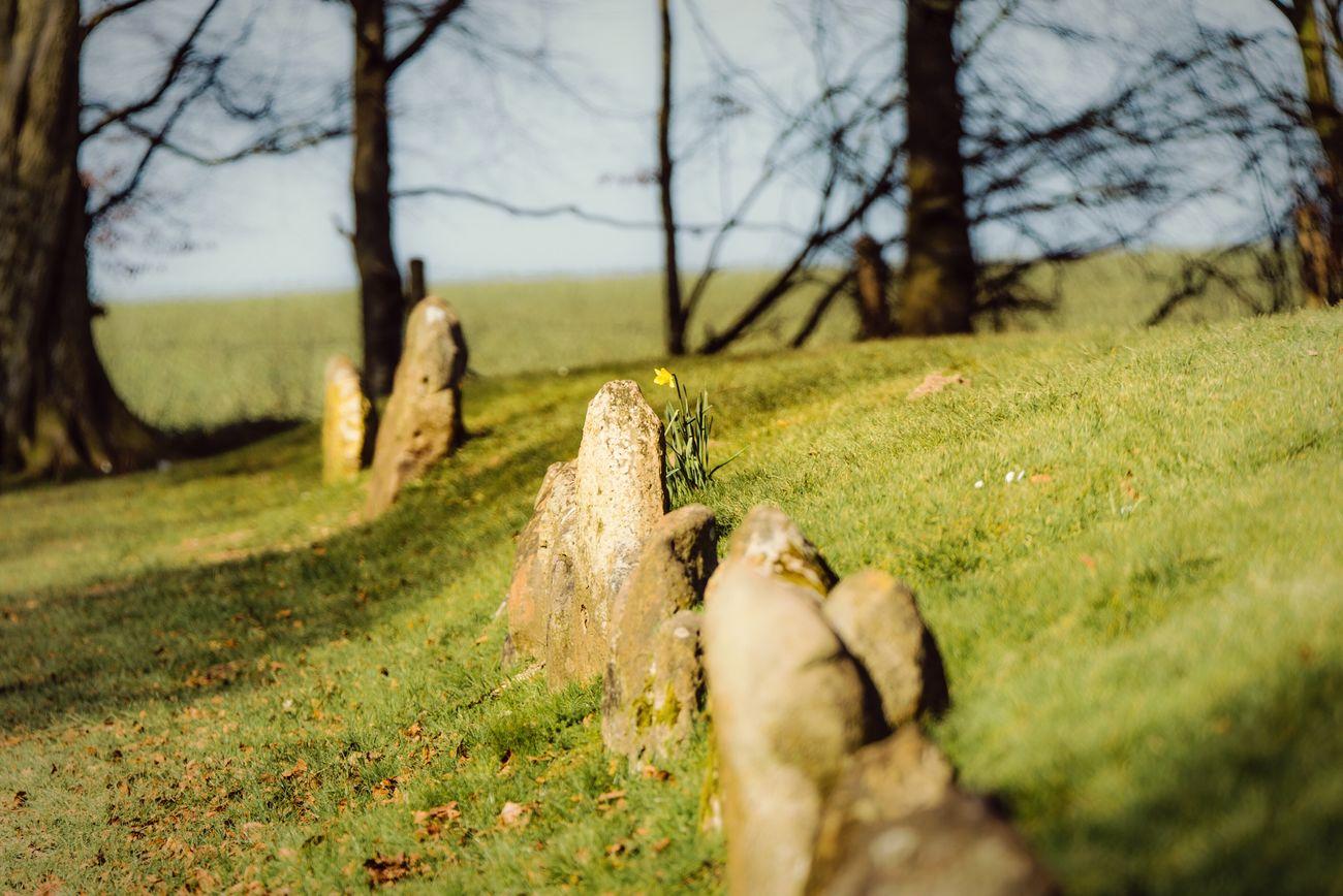 Weyland's Smithy Traveling Prehistoric England Fairytale  Ruin