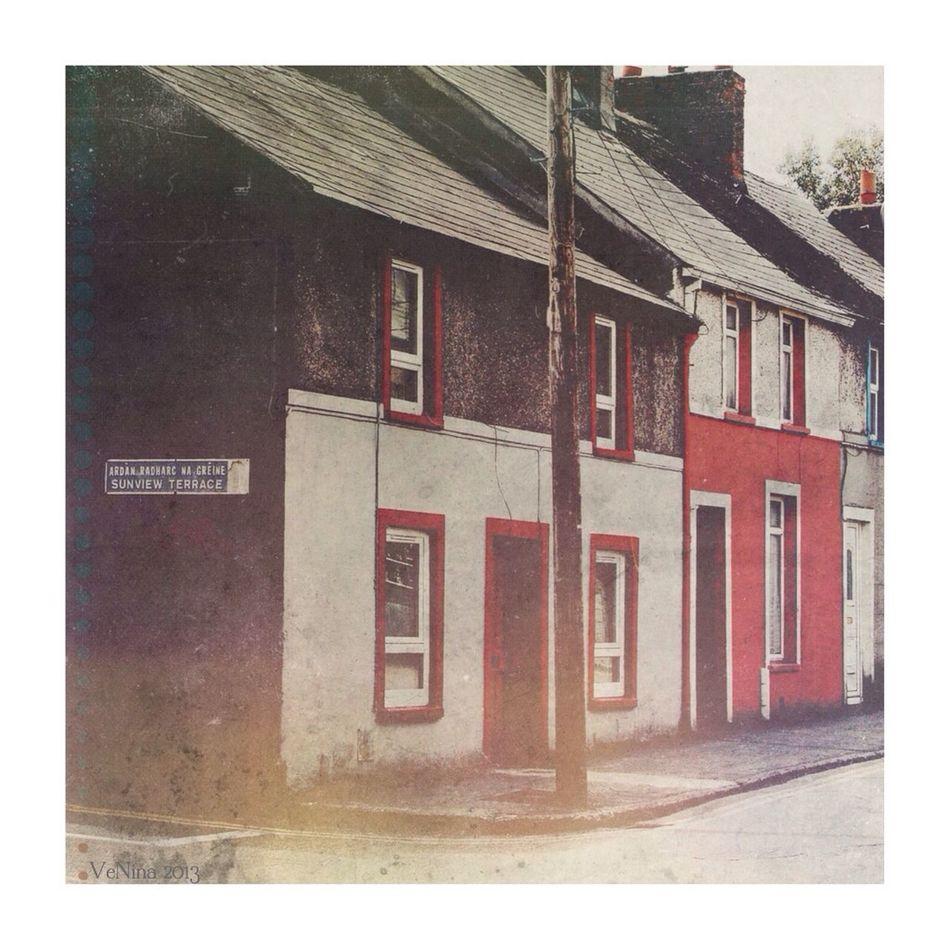 Cork Streetphotography Houses Ireland