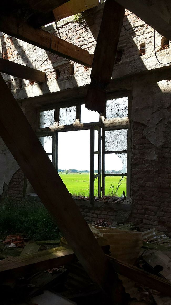 Abandoned Abandoned Places Abandoned Buildings Window From The Window Looking Out Broken Ruined Building Ruins