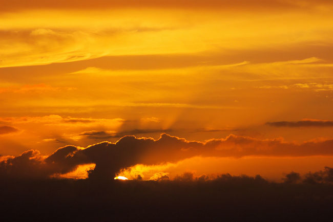 Orange cloudy sky sunset Atmospheric Mood Beauty In Nature Clouds And Sky Dramatic Sky Orange Color Orange Sky Sunset Outdoors Scenics