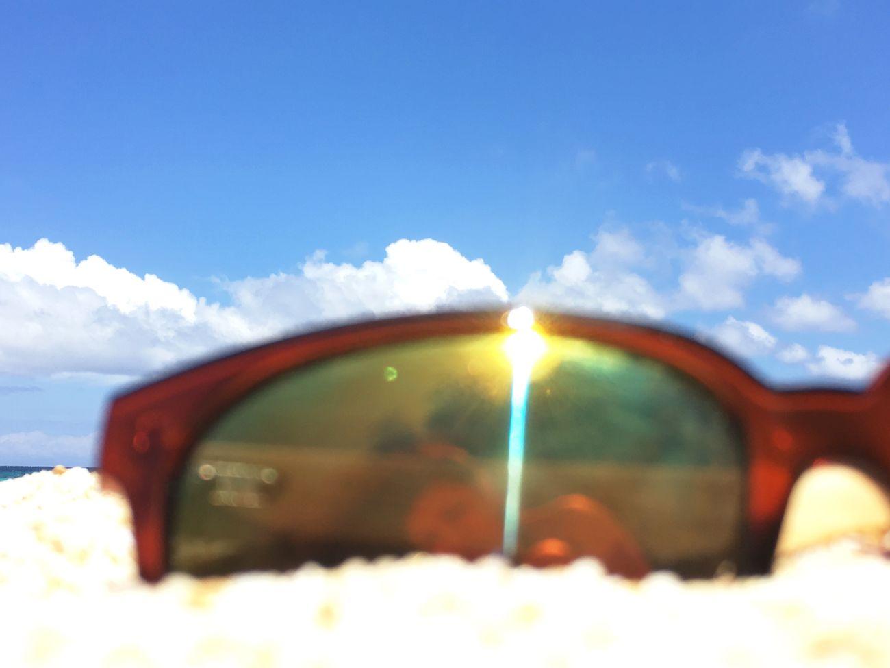 Relaxing Beach Sunglasses