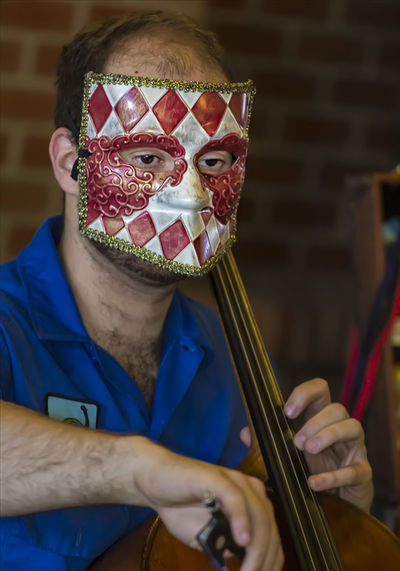 Masked Musician Mask Masked Musicia Masked Performer Perfect