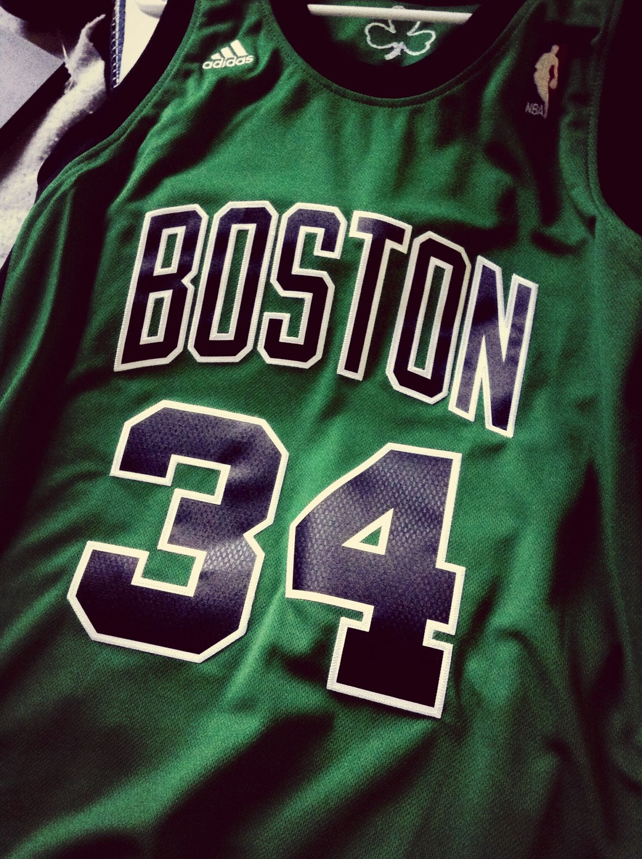 Celtics PaulPierce Boston Green
