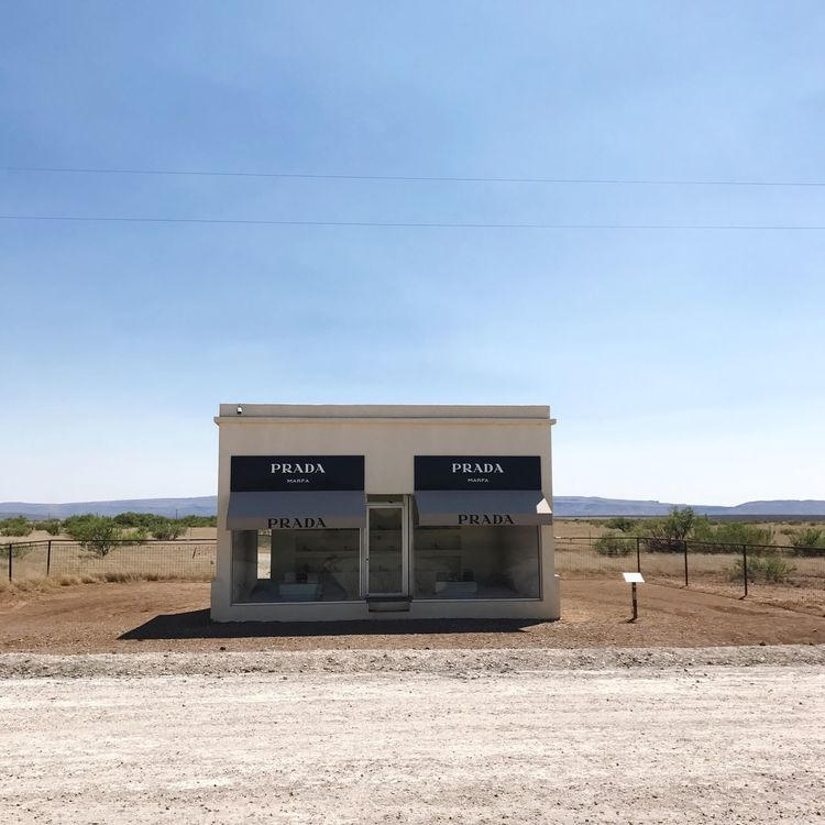 Day Outdoors Landscape Desert No People Text Architecture Fashion ArtWork Art Is Everywhere Marfa Texas Marfa Texas Art Work Gallery Shoe Art Art Installation Arte Texas Landscape Fashionista Built Structure