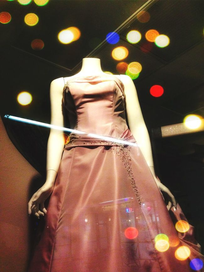 Fine Art Photography Fresh On Eyeem  Shopping Window Window Window Shopping Mannequin In The Window Reflections Lights City Lights City Lights At Night Fashion Dress Dress Shop Street Photography Mannequins Windows Window View Window Reflections Colorful Lights Colourful Lights The Magic Mission Home Is Where The Art Is Colour Of Life