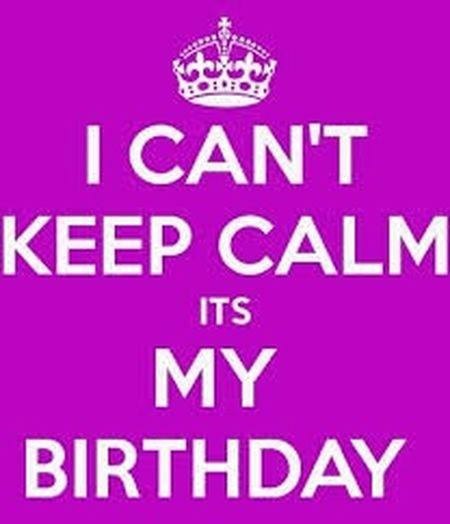 13th Birthday Happy Birthday! Cant Keep Calm Happy Gud Morning!   2015  Follow Me