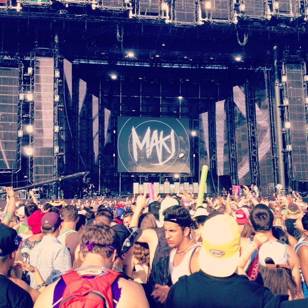 At Digitaldreams but can't help but remember seeing MAKJ with @matthewjmclellan 😘 miss ya bro