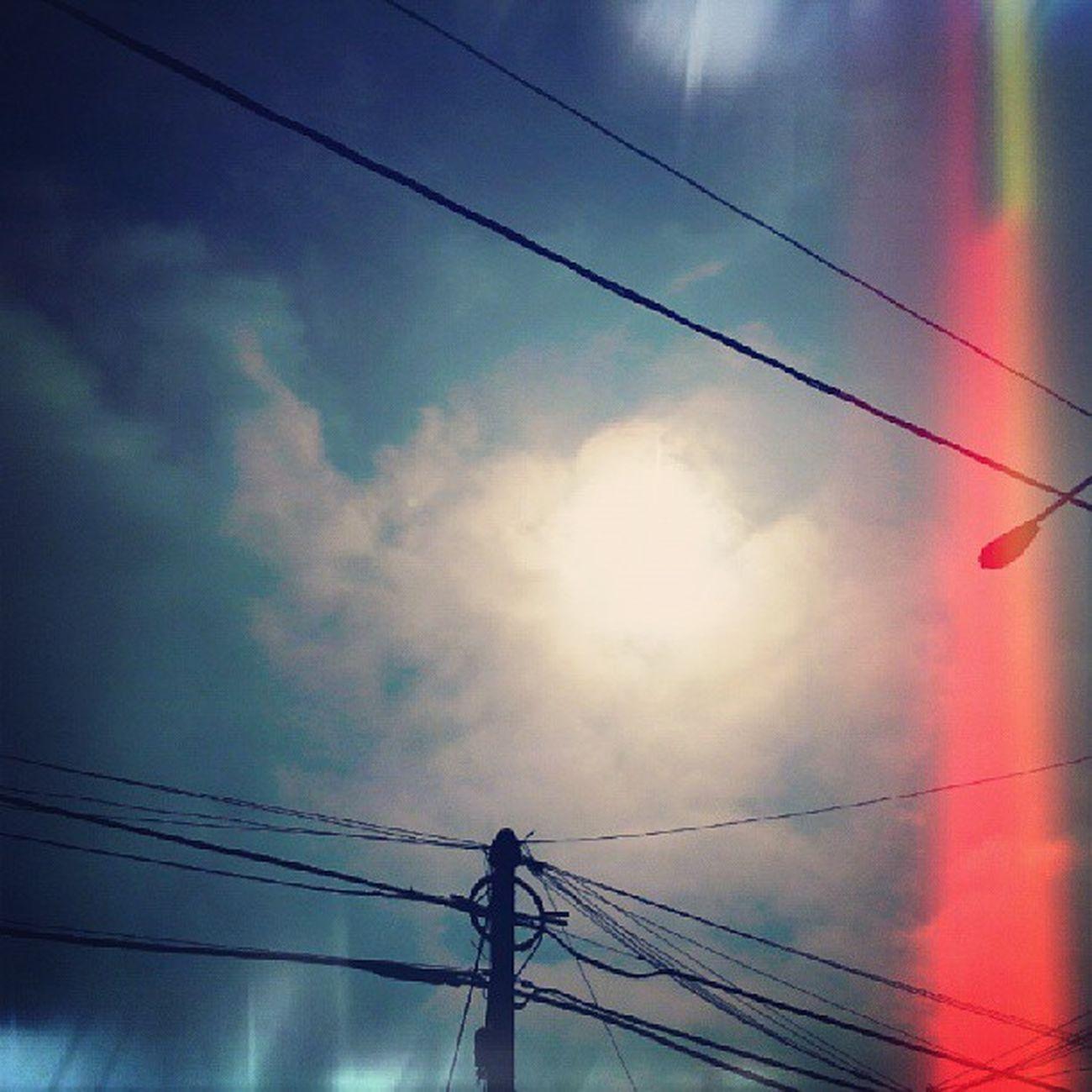Que tal sol Sky Blue Cielo Nubes igersperu streetphotoperu editsperu lima peru