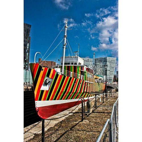 Groovy ship I spotted in Liverpool Ship RASTA Funky Freshwhip