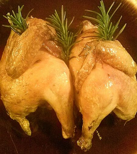 Cornish Hens with Rosemary Out Of My Cauldron SZeaglesoul Joy Of Cooking Food Foodpics Streamzoofamily