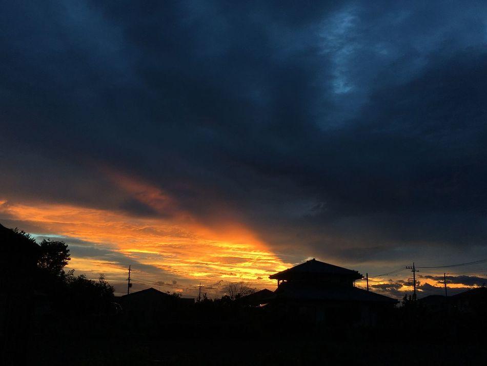 Japan Beautiful Sky 夕暮れ 黄昏 Night Sky