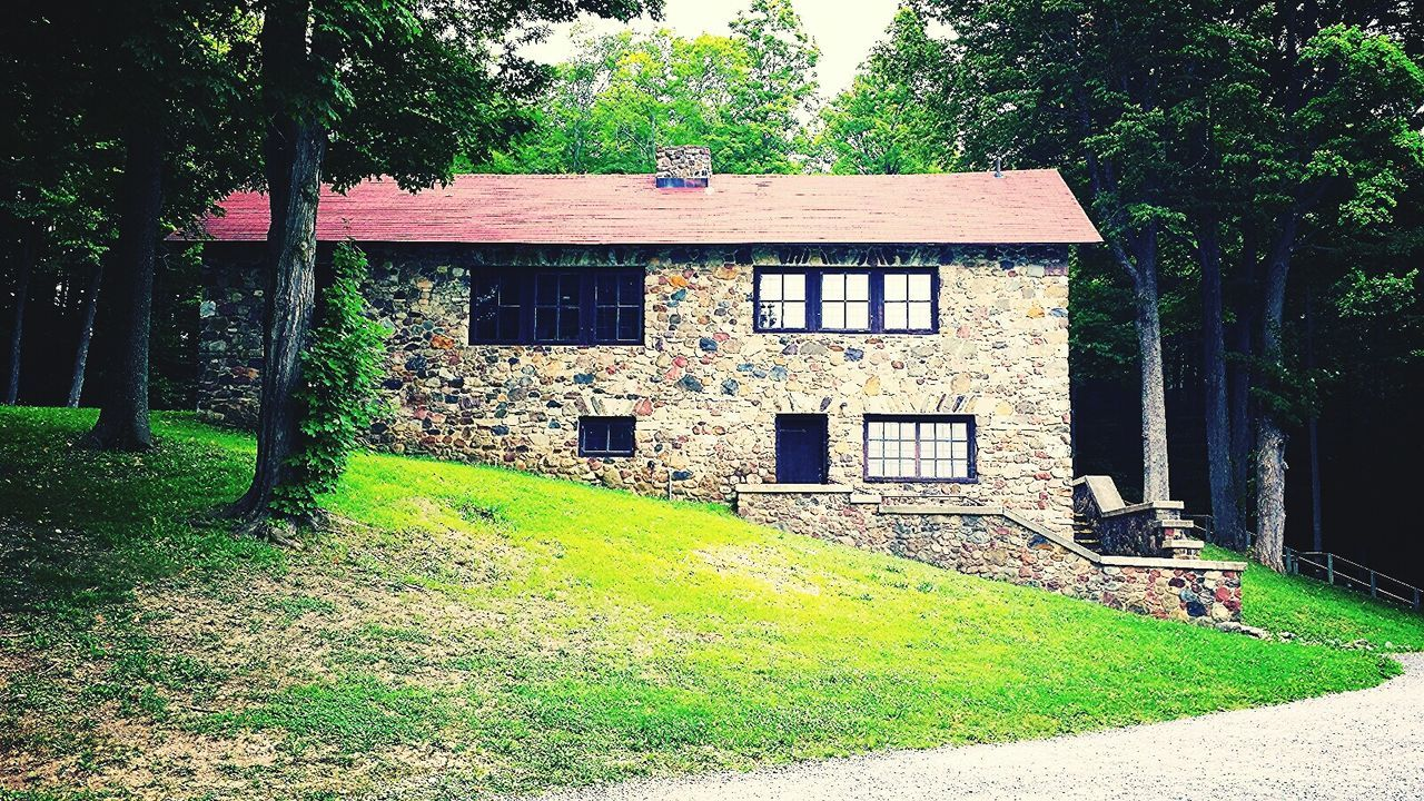 Cabin In The Woods Cabin At The Lake Naturelovers Beautiful Places Hidden Gems  Beautiful Stonework