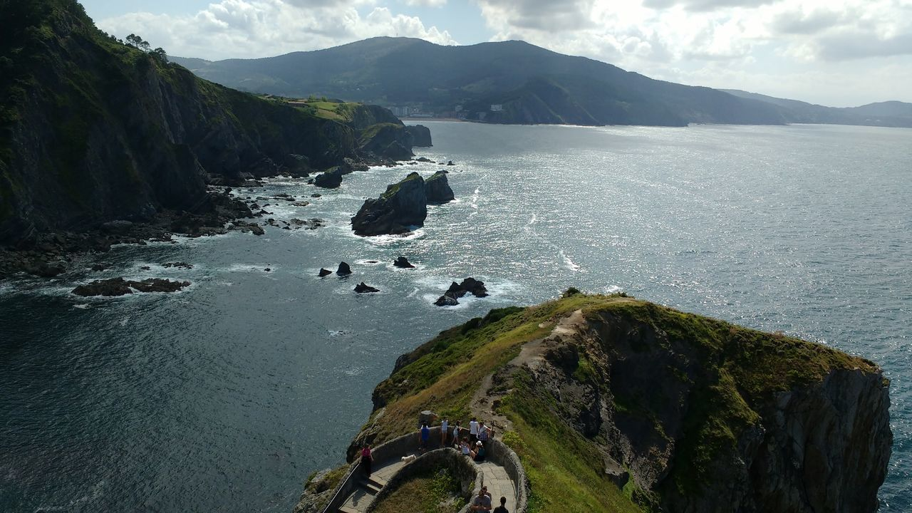 Sea Fantastic View Bay Steps Views Rocks Stairs Sea View Seeside Water Waves Relaxing Trekking Landscape