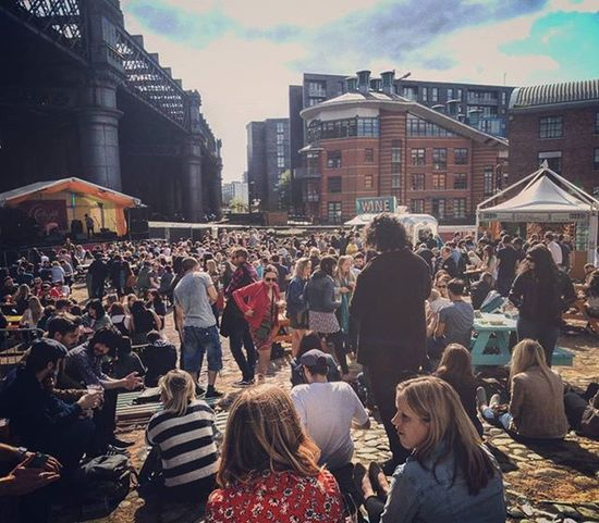 Happy Sunny Saturday Foodfestival Manchester Drinkup EatUp Meetup Stayup