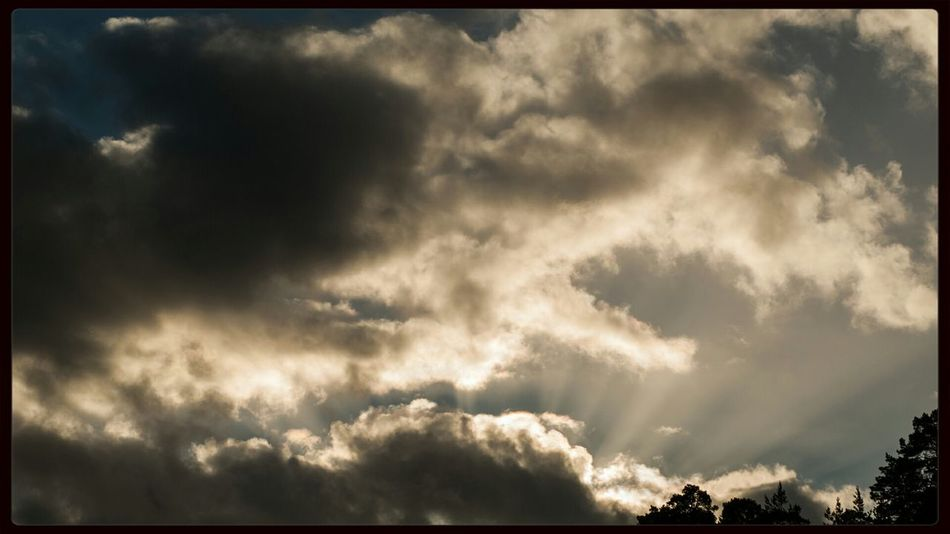 Behind the clouds Ray Of Light Sky Clouds Sun