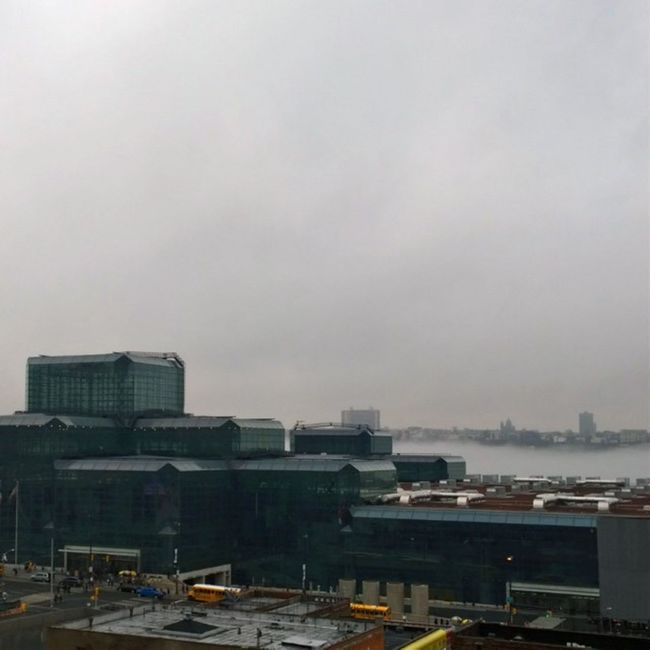 A foggy day here in the city! FogOverTheHudson EmmaCphotos Thingsisee Iheartny clinton