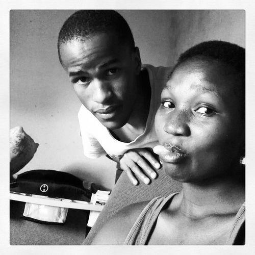 Khotsi a Kwena na Mme a Kwena. FamilyBonds BeforeSomeoneShoutedMama Inkwell Bw