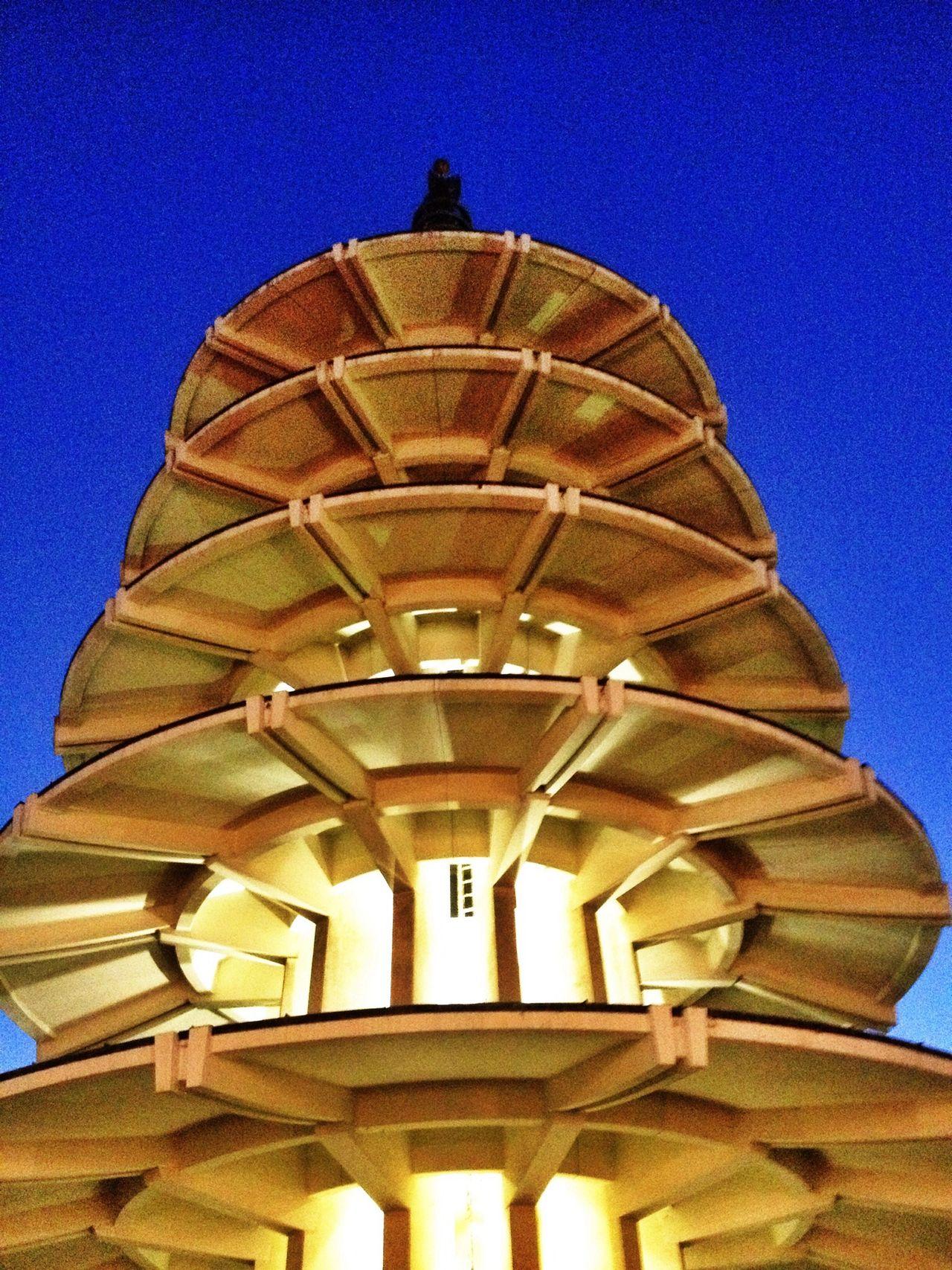 Lookingup Peace Plaza Twilight