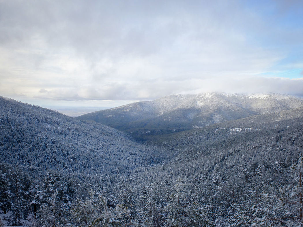 Valle de Valsaín Nature Landscape Mountain Scenics No People Cloud - Sky Beauty In Nature Outdoors Freshness Snow Winter Fujifilm Fujifilm_xseries SPAIN Travel Awesomeearth TCPM The Great Outdoors - 2017 EyeEm Awards Live For The Story