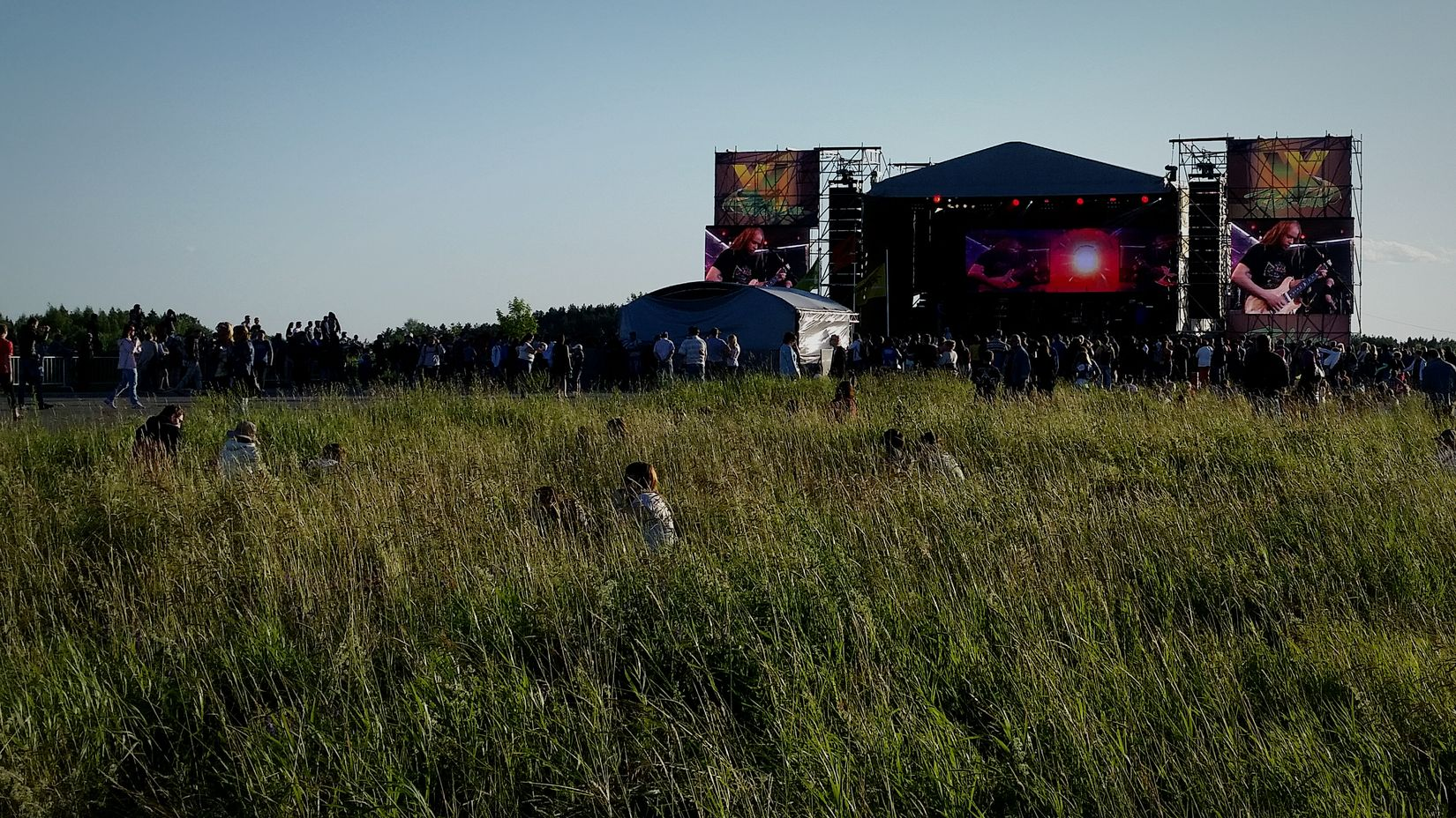 Rock Line Party Time Nature Free Time Open Air Festival