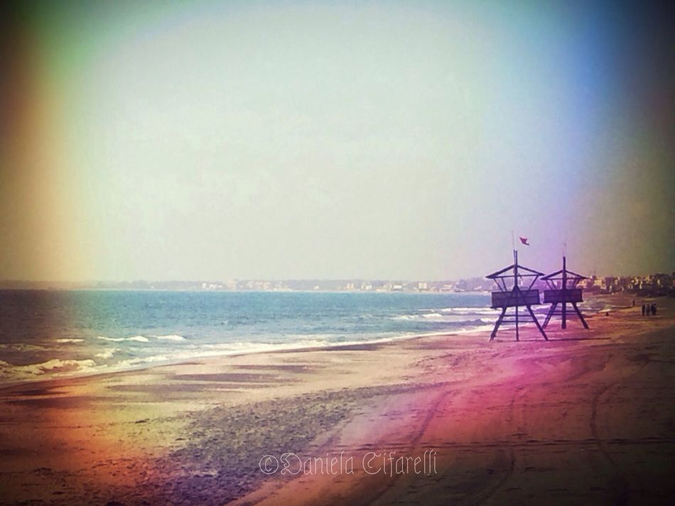 Italian seascapes - My homecity beach Near And Far AMPt_community EyeEm Best Edits AMPt - Shoot Or Die