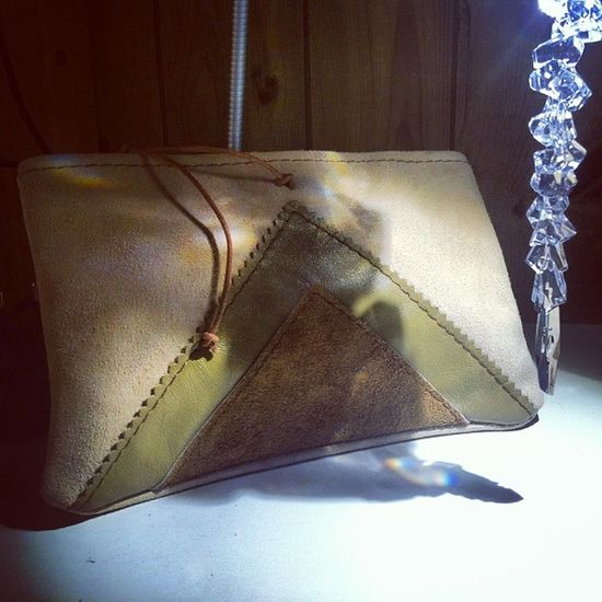 Leather Leatherbag Creation Winter Brown Nature Indies Cuir Pearl Colors