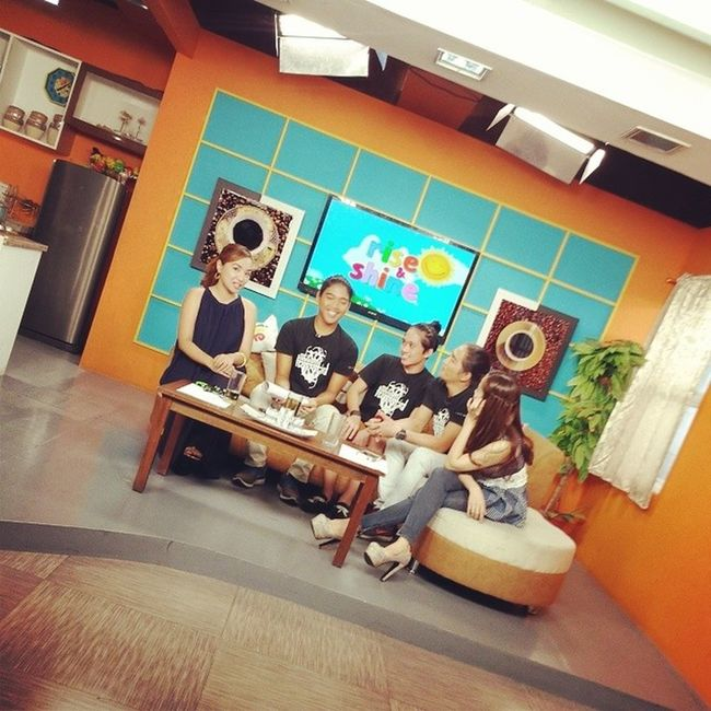 The cast of AngNawalangKapatid on Rise and Shine!!! Tune in now on UNTV!!!