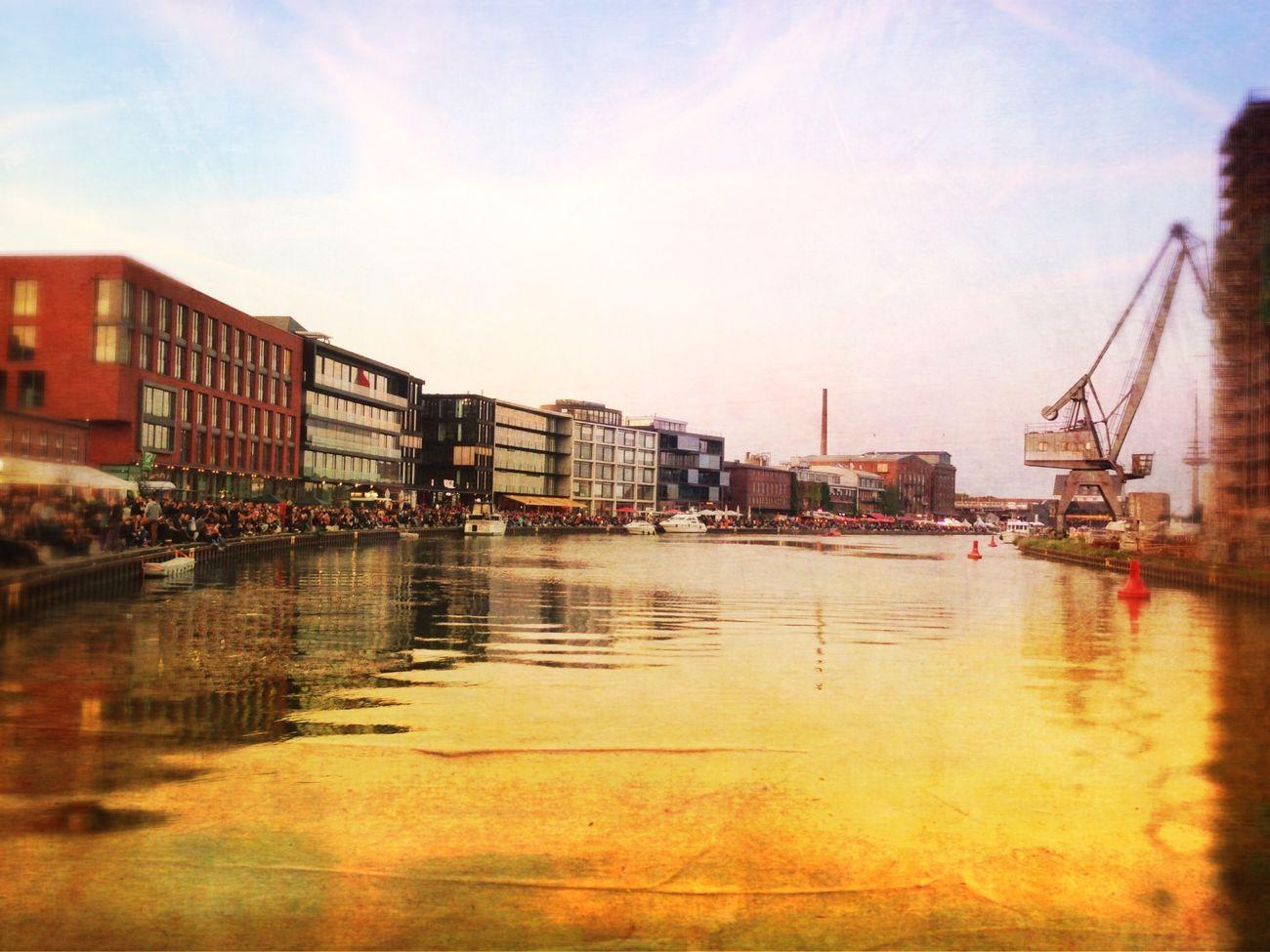 Münster Impressionen Münster Hafen