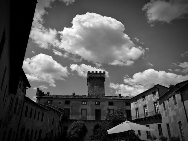 Clouds Clouds And Sky Castel Tower Sun&Clouds