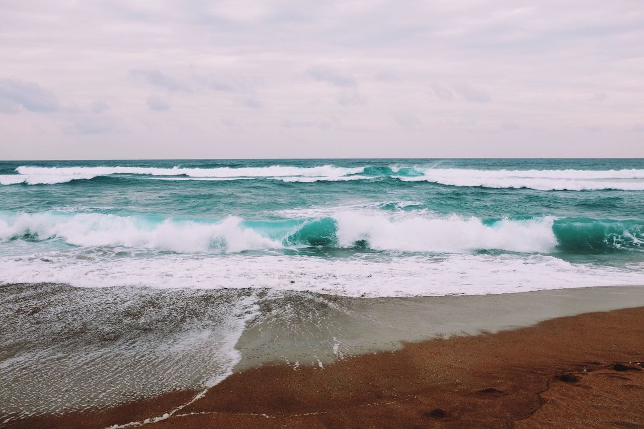 Beach Landscape Sea