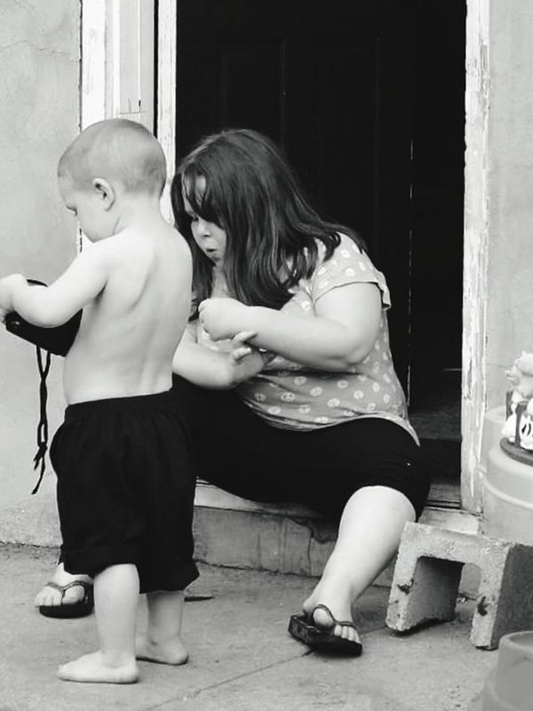 Kids at play Blackandwhite Photography Taking Photos Relaxing Enjoying Life A Moment In Time