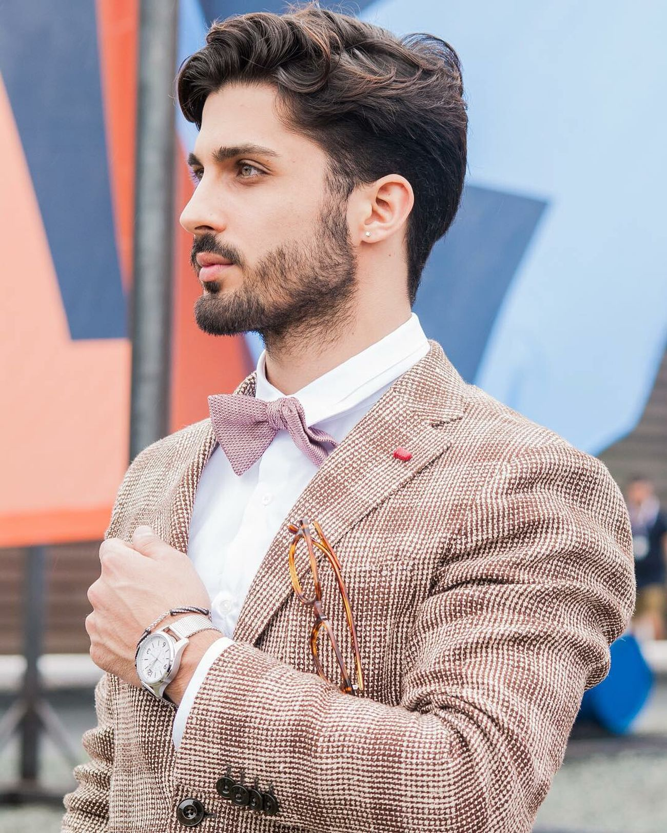 Hi friends, I'm proud to present you my first outfit of PITTI UOMO , follow my updates in snapchat and tell me if you like my outfit #marcoparrino pitti thanks to Sartoria Latorre Beautiful Happy Italy Fashion Outfit Style Man Vogue Blogger Outfit OOTDBlog Eyes Hairstyle Hair Pittiuomo