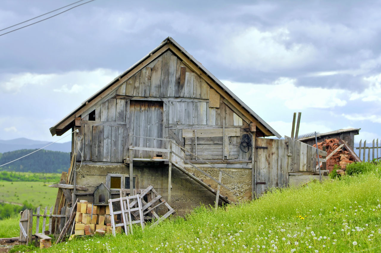 A typical Dinaric cow-house 🐮 Abandoned Agriculture Architecture Barn Building Exterior Built Structure Byre Cloud - Sky Cloudy Sky Cowhouse Cowshed Dinaric Dinaric Region Dinaric View Farmhouse Stable Stable Door Stable Life Stabling Village Village Life Village Photography