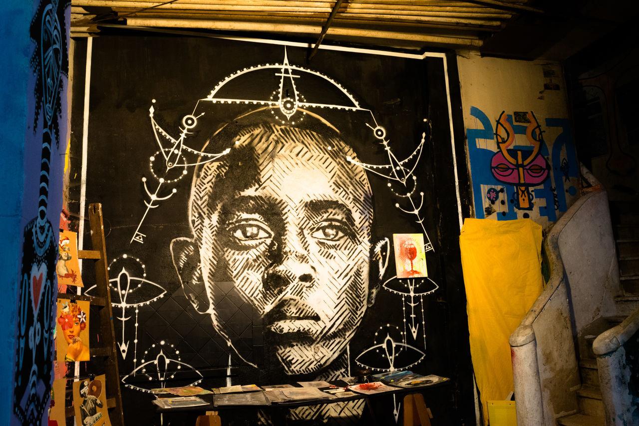 Art Art Is Everywhere Arte Arteurbana Graffiti Graffiti Art Graffiti Wall Grafitti Human Representation Indoors  Ocupaouvirdor Urban Urban Geometry