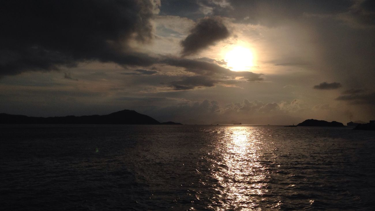 Eyeempost Taking Photos HongKong Nofilter Wideview Beforethesunset Reflection #islands Clouds