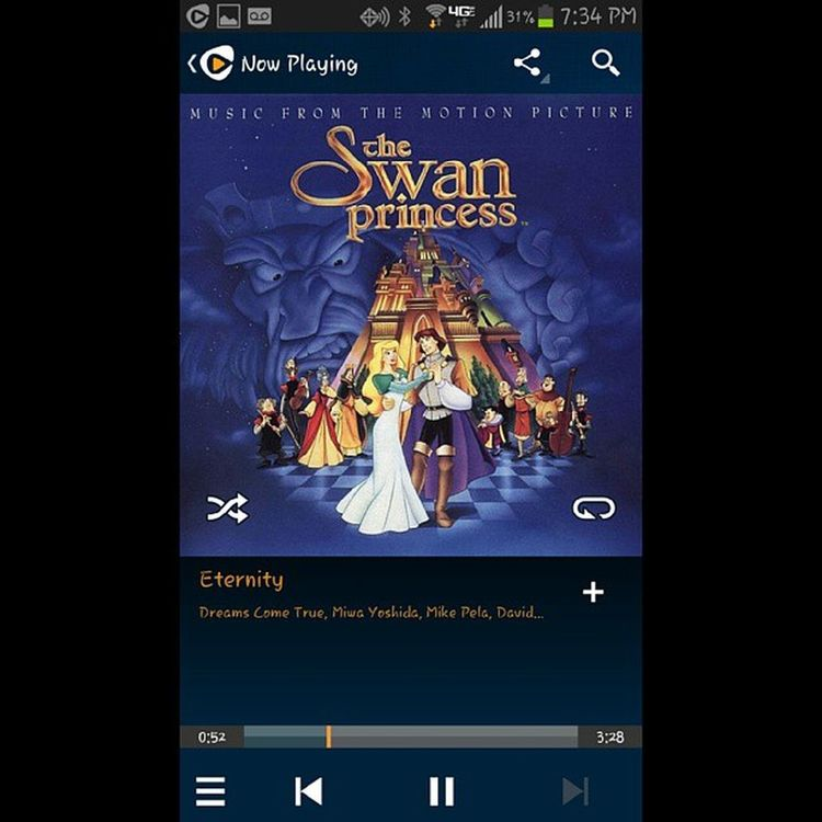 I remember being 9 years old and getting teary-eyed whenever this song played during the credits. Yes...I was sentimental at an early age, LOL Dontjudgeme TheSwanPrincess TheSwanPrincessSoundtrack EternityByDreamsComeTrue MovieSoundtracks 90s 90sKid NonDisneyMovies