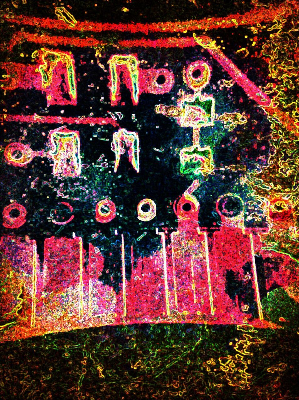 spray paint, graffiti, multi colored, no people, outdoors, day, close-up