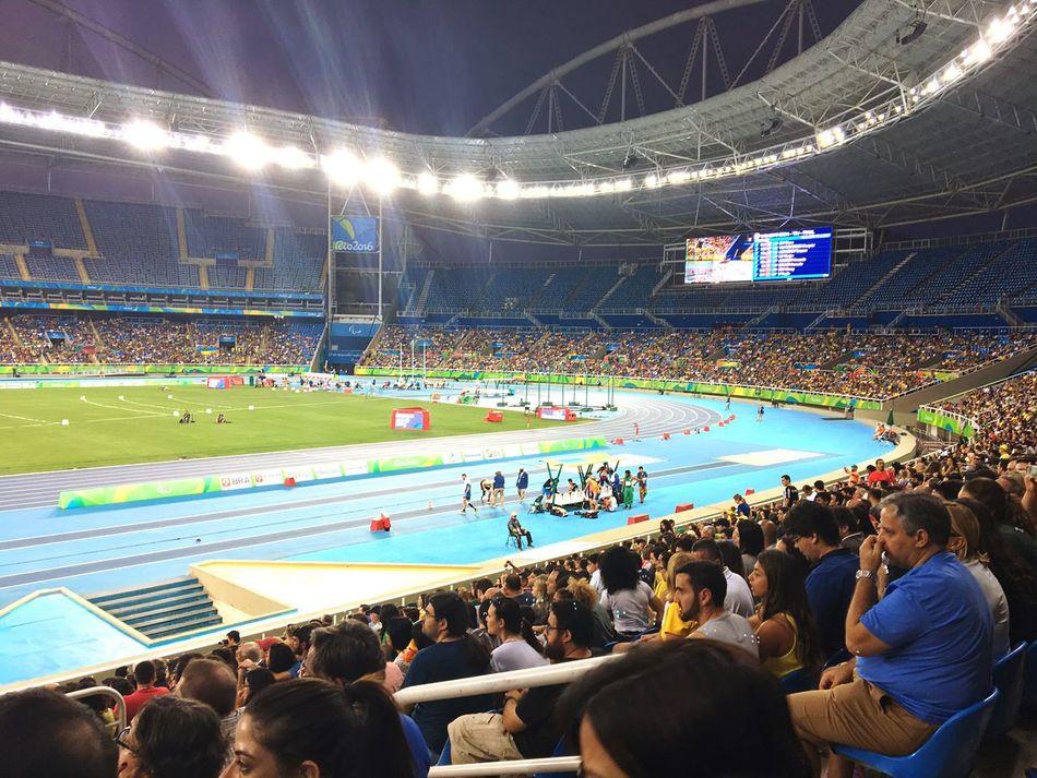 Paraolímpiadas - Estádio do Engenhão - Atletismo. Paralimpic Games Paralimpics Atletismo First Eyeem Photo