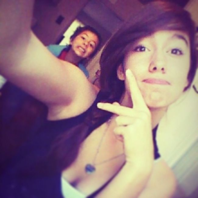 My Little Handsome Brother && I <3333 (; Wecute WeBored Swaaaag Kbye