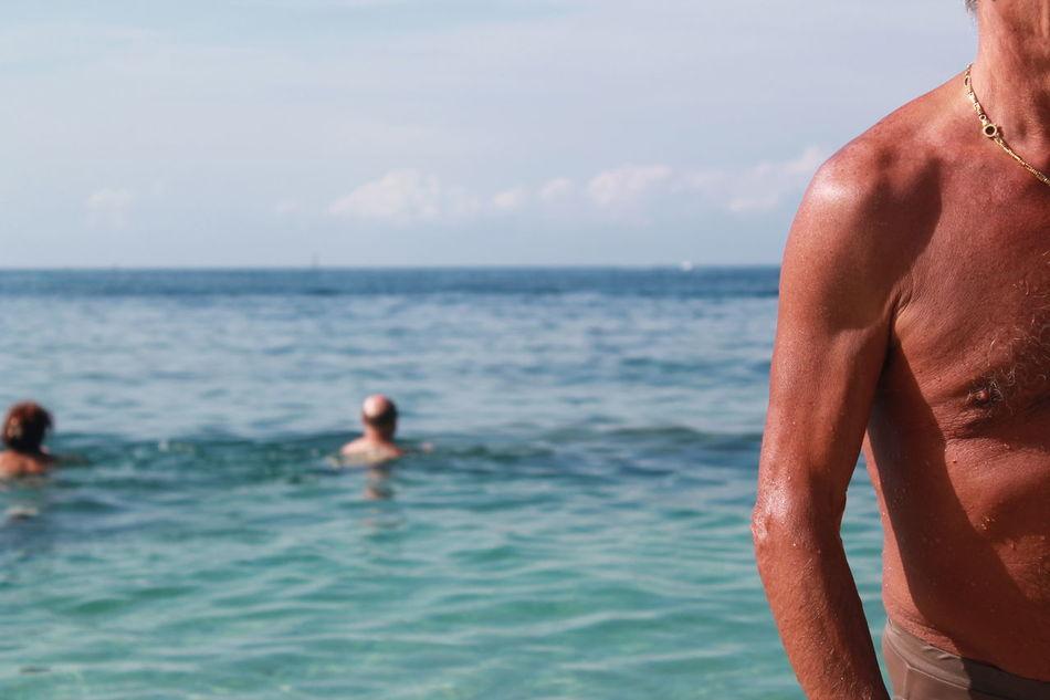 Beautiful stock photos of summer, Beach, Day, Horizon Over Water, Leisure Activity