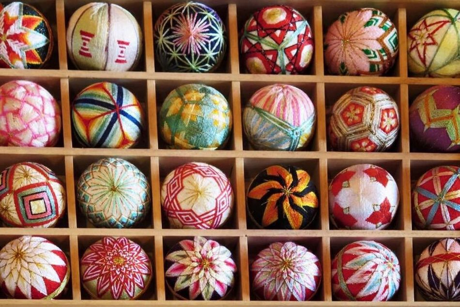 Multi Colored Cultures No People Indoors  Day Girls Day Spring Tradition Variation Japan Fukuoka Yanagawa Hinamatsuri Embroidery Handmade ひなまつり Temari